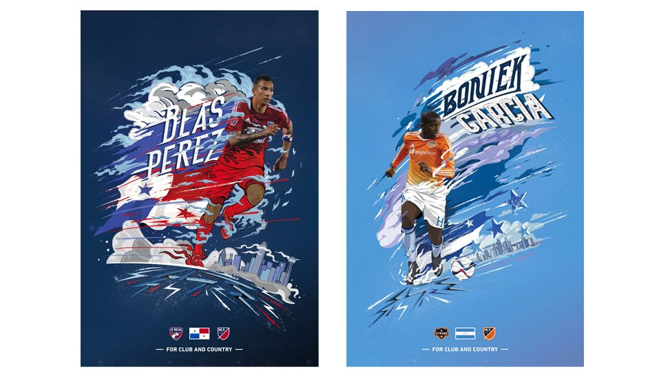 European Matchday Posters