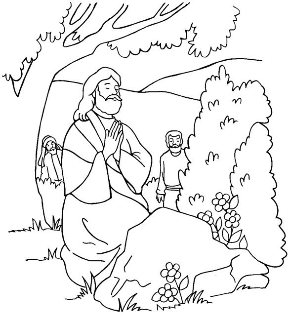 Free Printable Jesus Coloring Pages http://freecoloring-pages.org ...