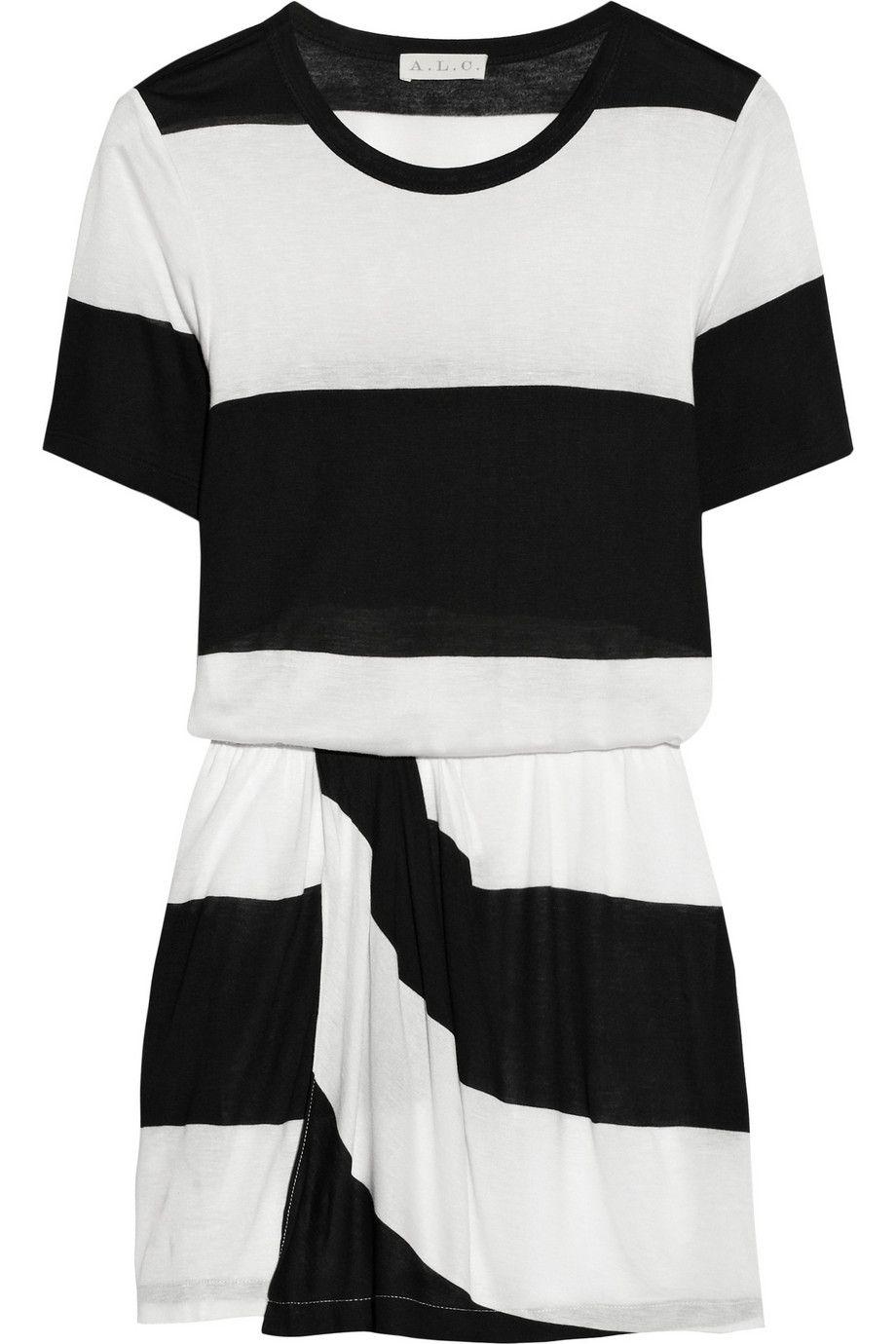 a l c finn striped cotton jersey dress eazy breezy summer