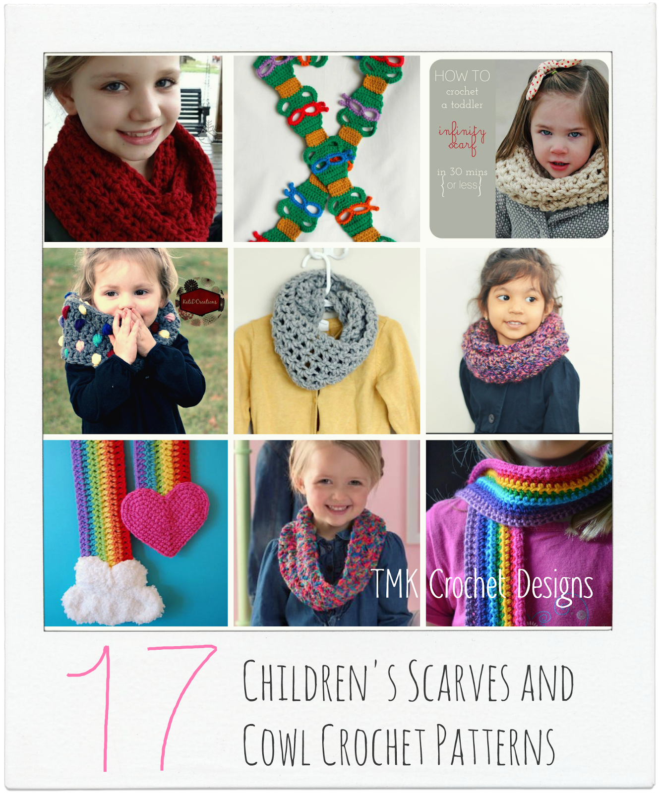 Free crochet pattern round up childrens scarves and cowls tmk free crochet pattern round up childrens scarves and cowls dt1010fo