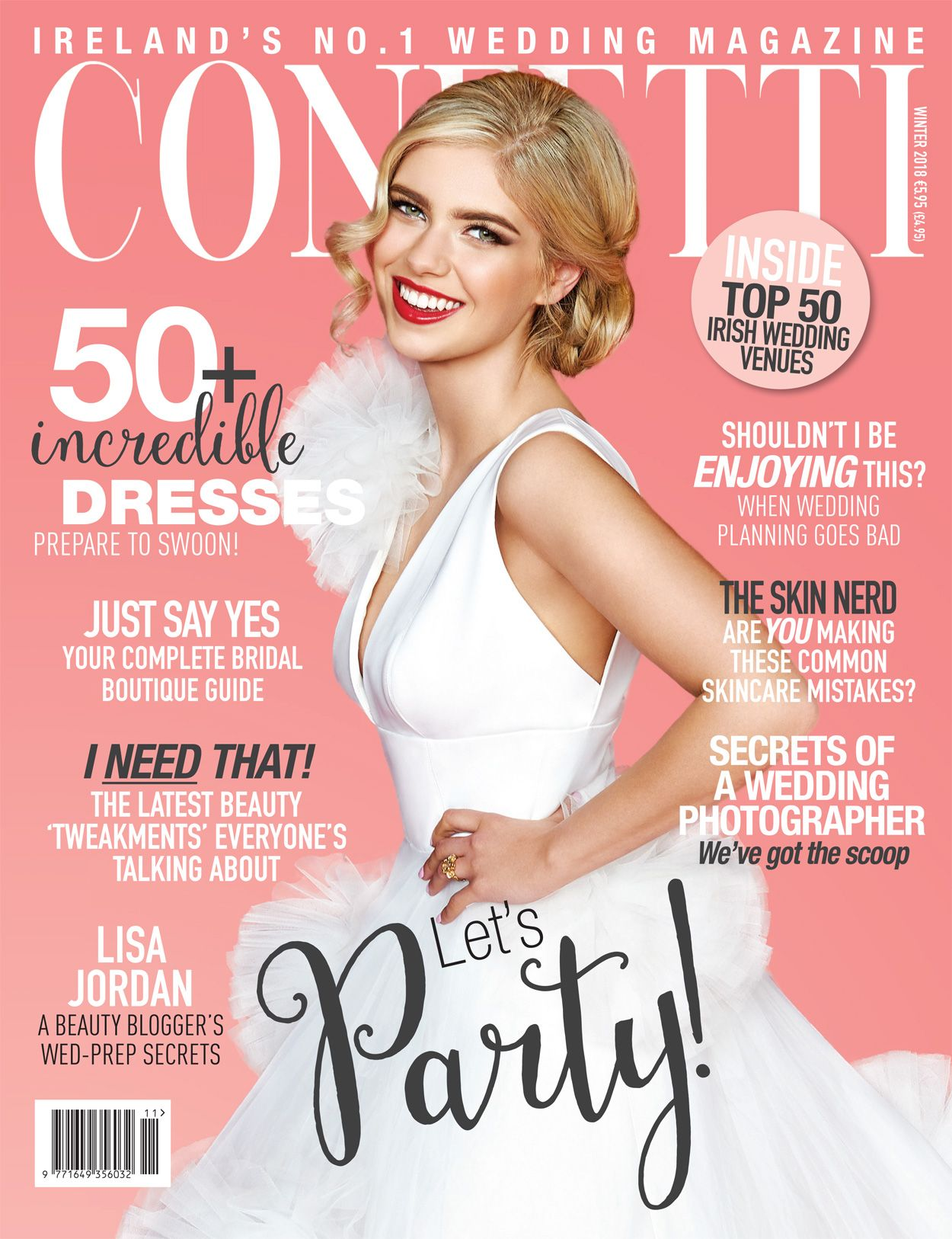 Confetti S Gorgeous New Winter 2018 Issue Is Out Now Wedding Venues Wedding Magazine Bridal Magazine