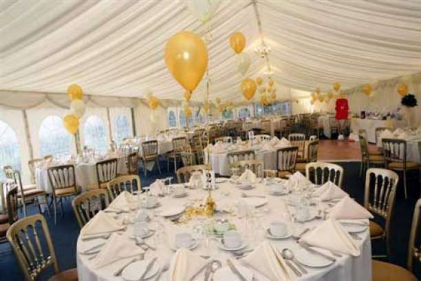 Wedding Reception In The Marquee Glamorgan Wedding Venues