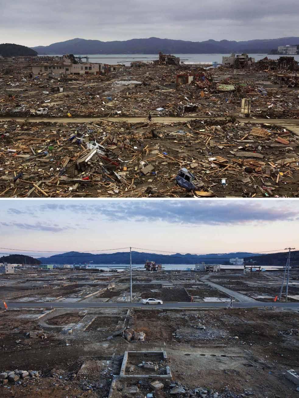 Imágenes del Tsunamis en Japón.   11/03/2011)