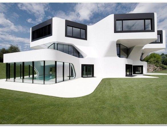 Futuristic Minimalist House Futuristic Home Modern Architecture