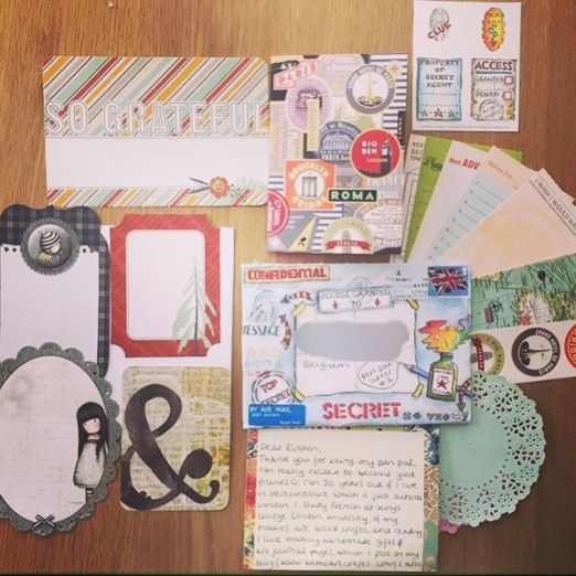 snail mail package to belgium