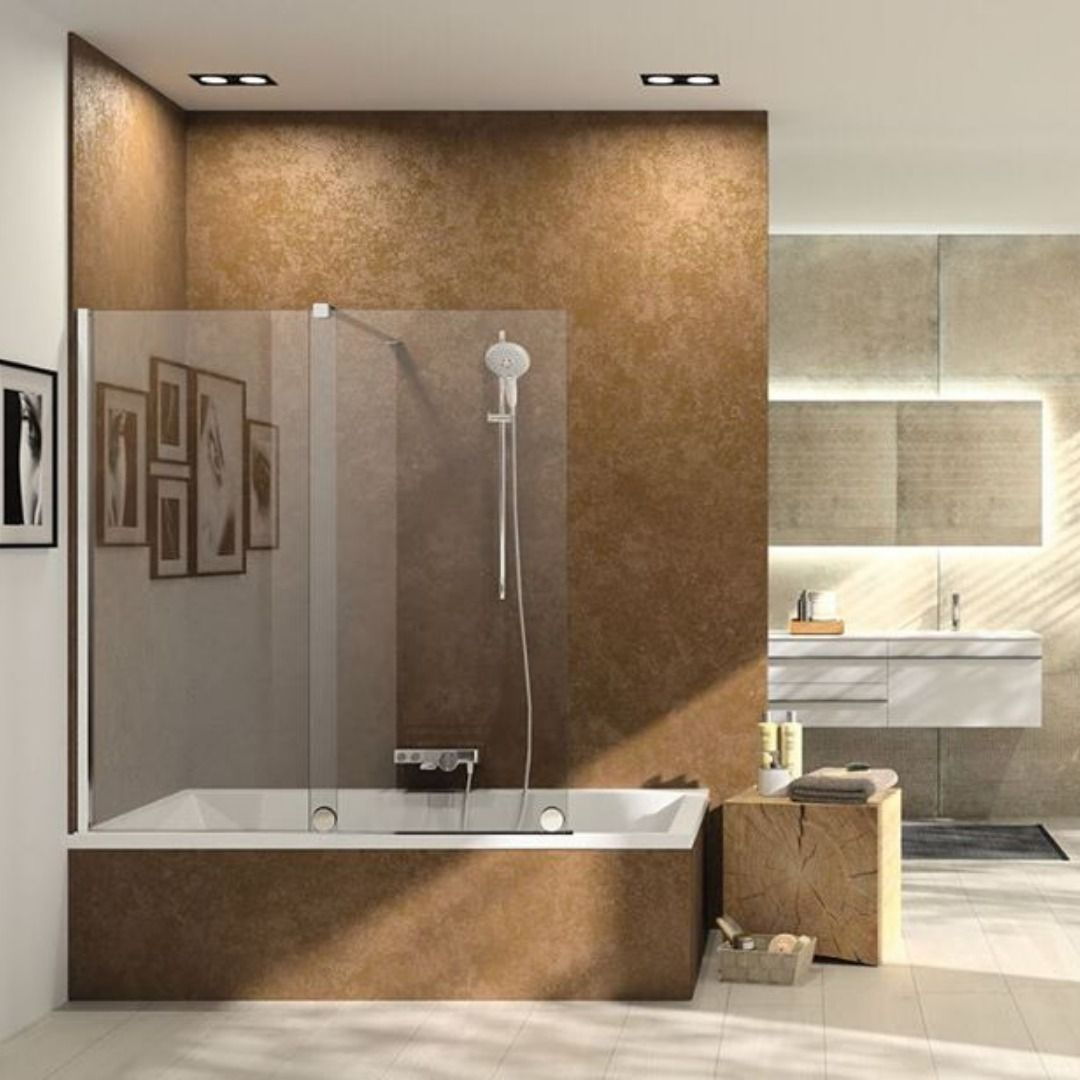 Huppe Xtensa Bath Screen Huppe Showerenclosures Bathscreenhuppe Bathroomdesign Bathroom Furdoszobatrend Duschkabine Dusche Wanne
