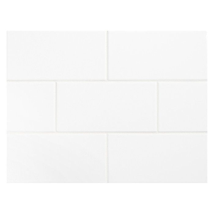 Ws Tiles Value Series 3 X 6 Ceramic Subway Tile In Bright Glossy