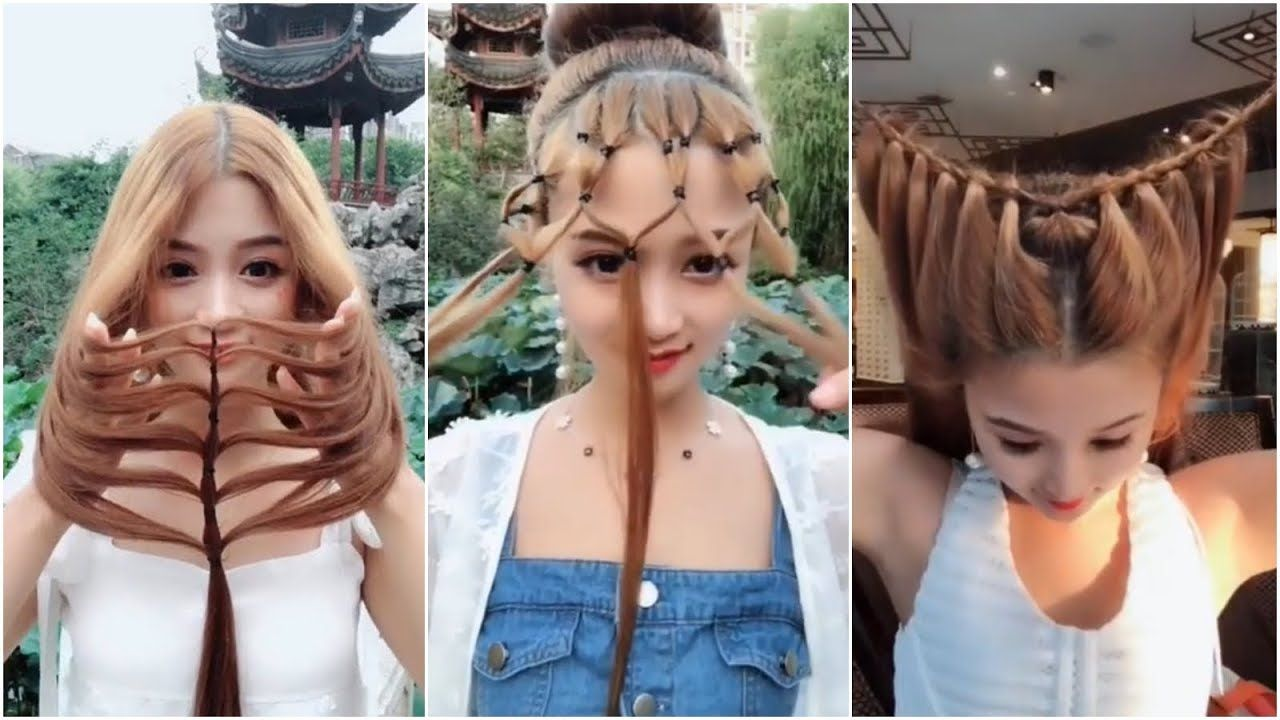 هذه الفتاة الكورية تعلمك حيل و تسريحات إبداعية للشعر ستجعلك مختلفة و متميزة كل يوم Youtube Sac Orgusu Sac