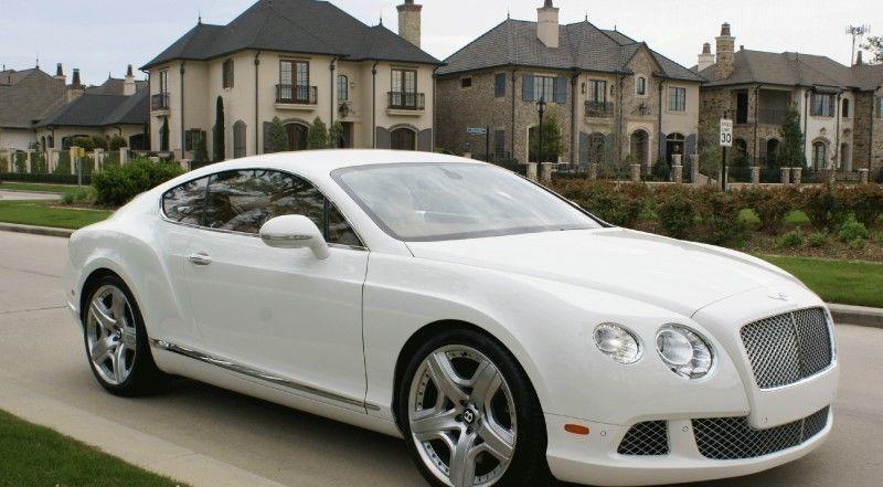 2012 Bentley Continental Gt Gt Coupe 2 Door Bentley Bentley Continental Gt Dream Cars