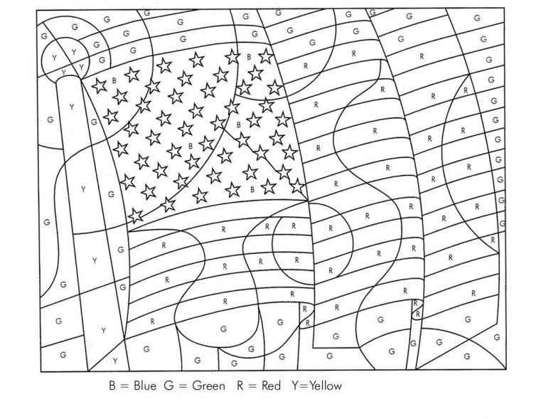 Color By Letters Coloring Pages Best Coloring Pages For Kids In 2020 Flag Coloring Pages American Flag Colors Coloring Pages