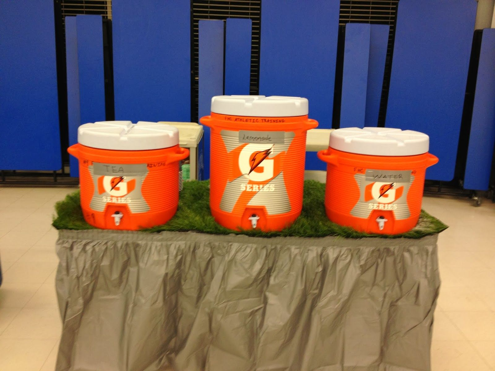 Welcome How To Decorate A Football Banquet On A Budget