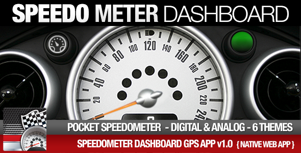 Speedometer GPS Dashboard - Analog/Digital | Code Script
