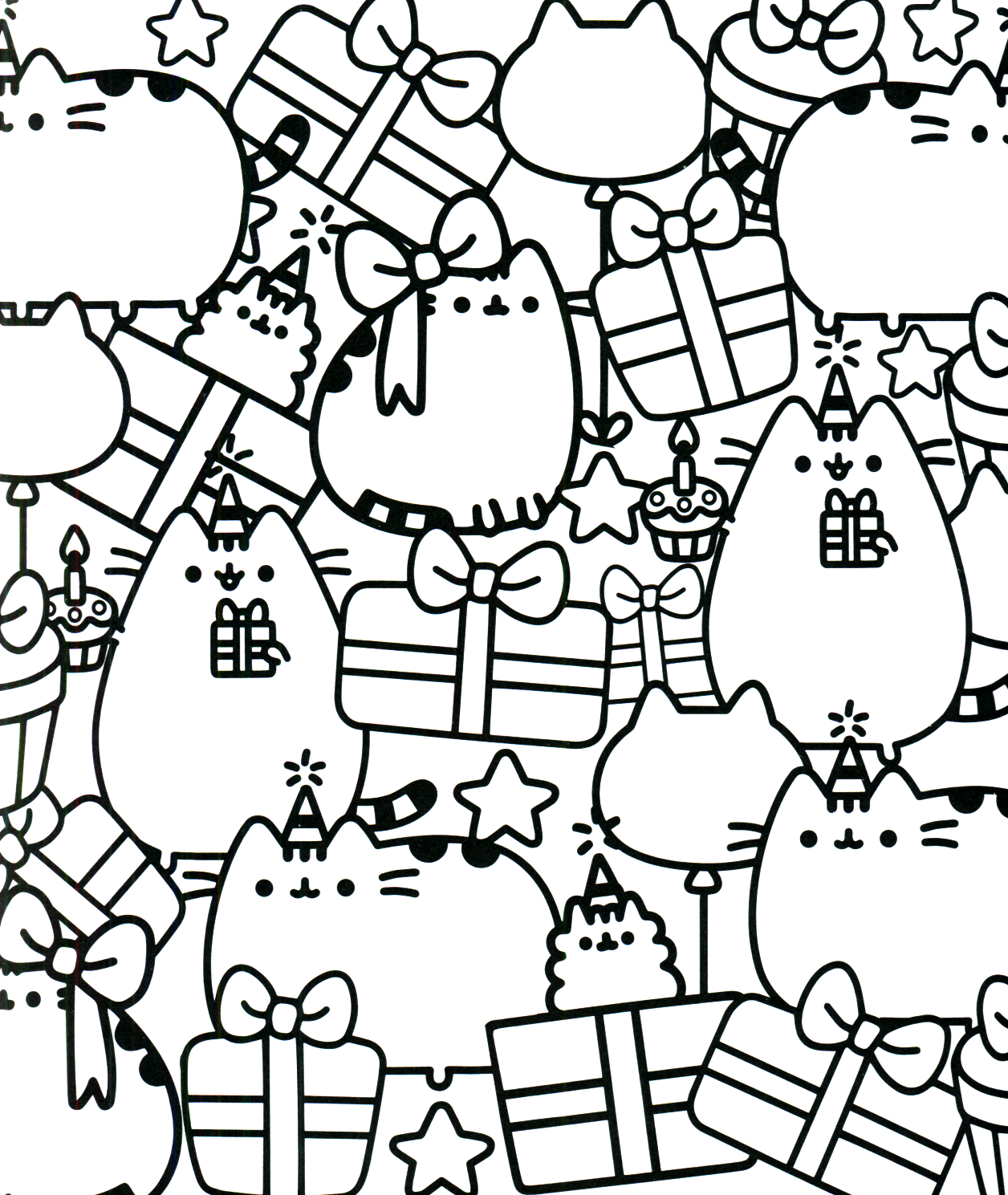 Pusheen Coloring Book Pusheen Pusheen The Cat Pusheen Coloring Pages Cat Coloring Page Cute Coloring Pages