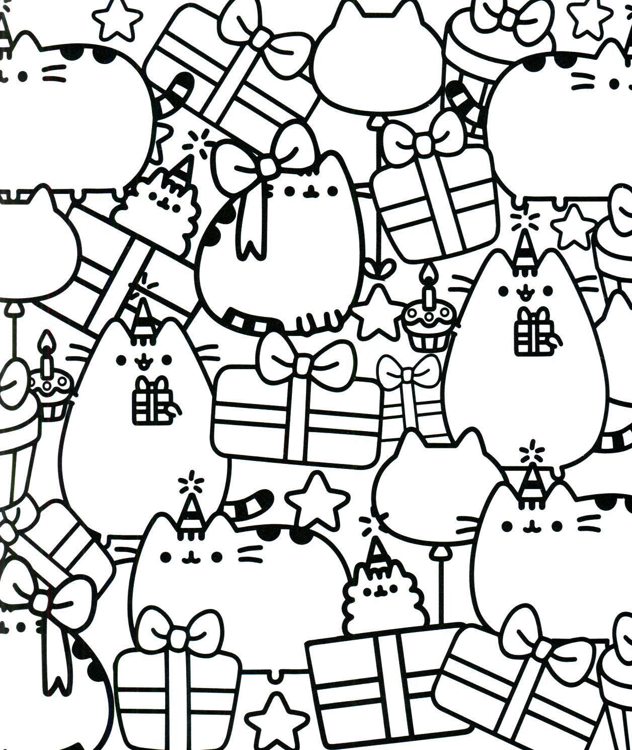 Pusheen Coloring Book Pusheen Pusheen