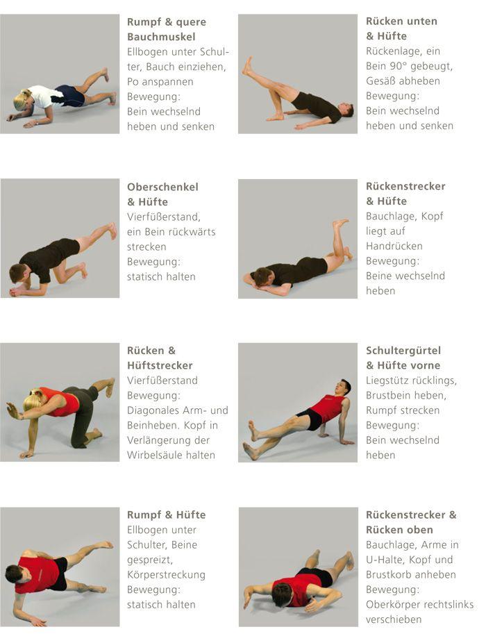 Bildergebnis Für übung Unterer Rücken Ohne Geräte Körper Geist