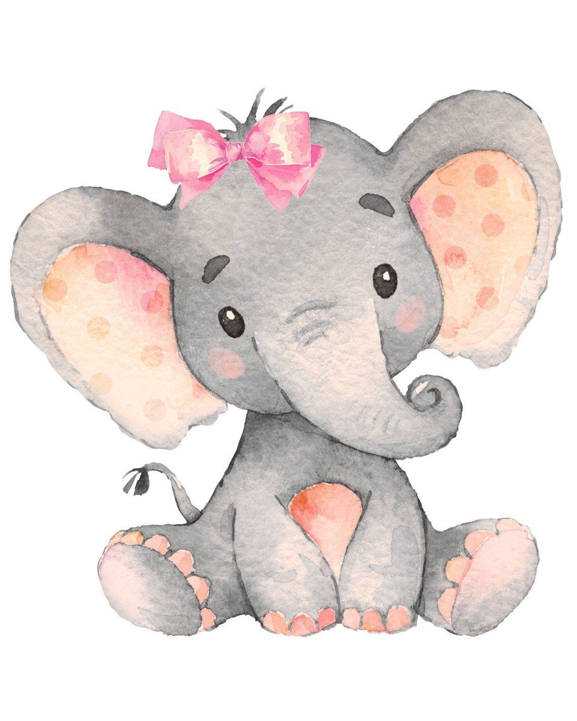 картинка милого слона искривление бывает вправо