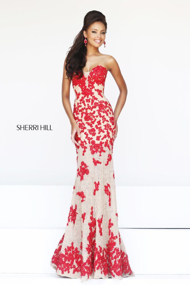 Sherri Hill dress available at Whatchamacalli… | SHERRI HILL PROM ...
