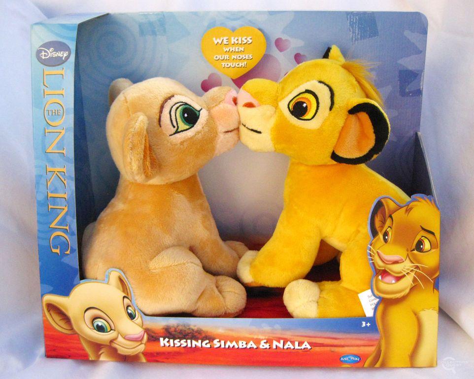 Simba /& Nala Disney/'s The Lion King Kissing Plush