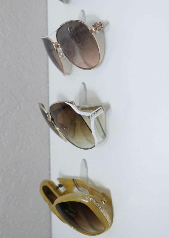 Sonnenbrillen Aufbewahrung Haken Kleben Wand Einfach Nachmachen