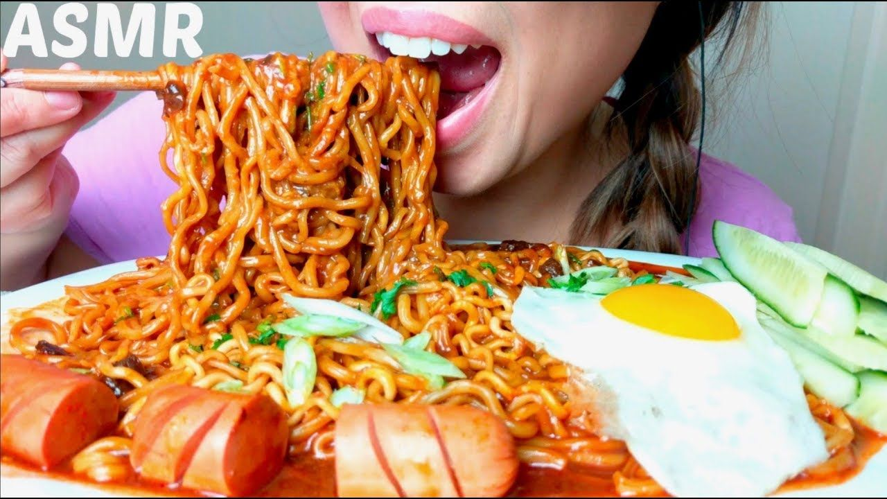 Asmr Diy Cheesy Black Bean Noodles Fire Ramen Recipe ̞ìž¥ë©´ ˨¹ë°© Jjajang Ramen Recipes Food Asmr At least i finished at least 2 and a half ish packs. asmr diy cheesy black bean noodles