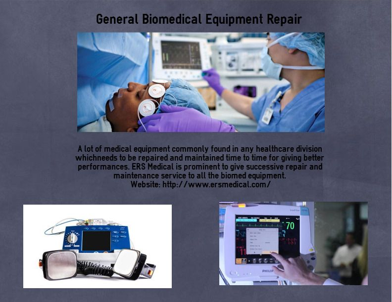 Ers Medical Equipment Repair Services Ersmedicalers On Pinterest