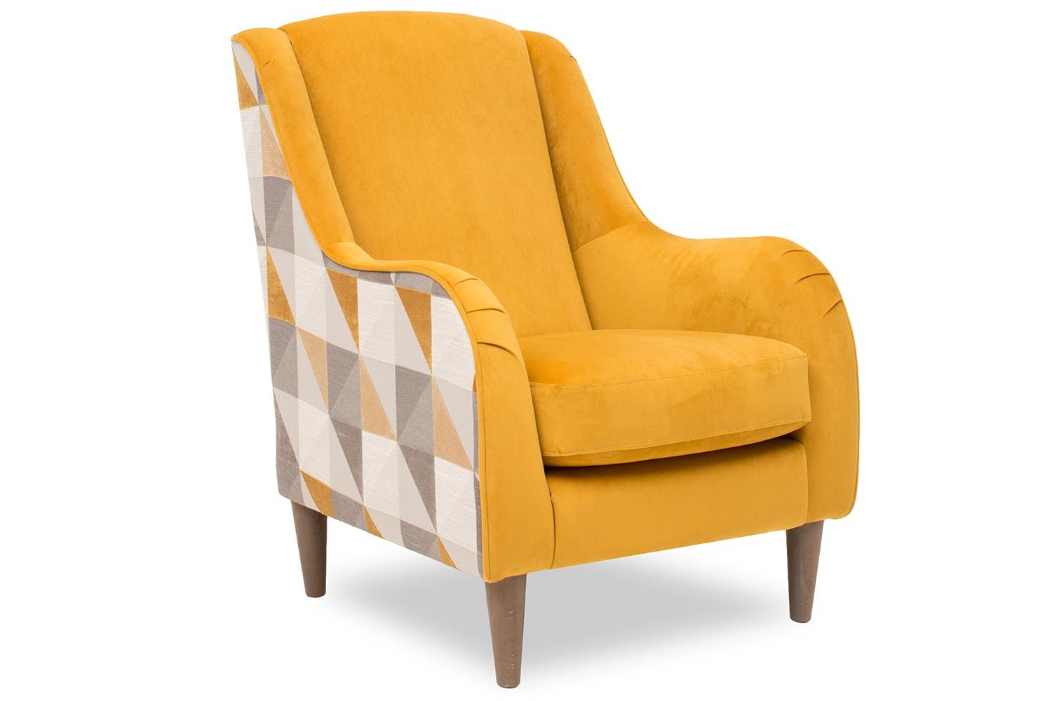 Holli Accent Chair Colour Options Accent Chairs Chair Yellow