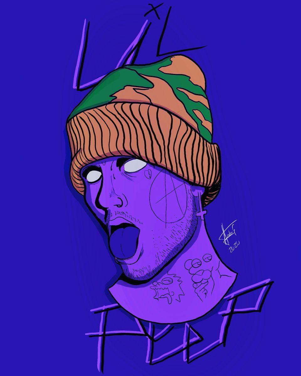 Peep art lil fan May Fan