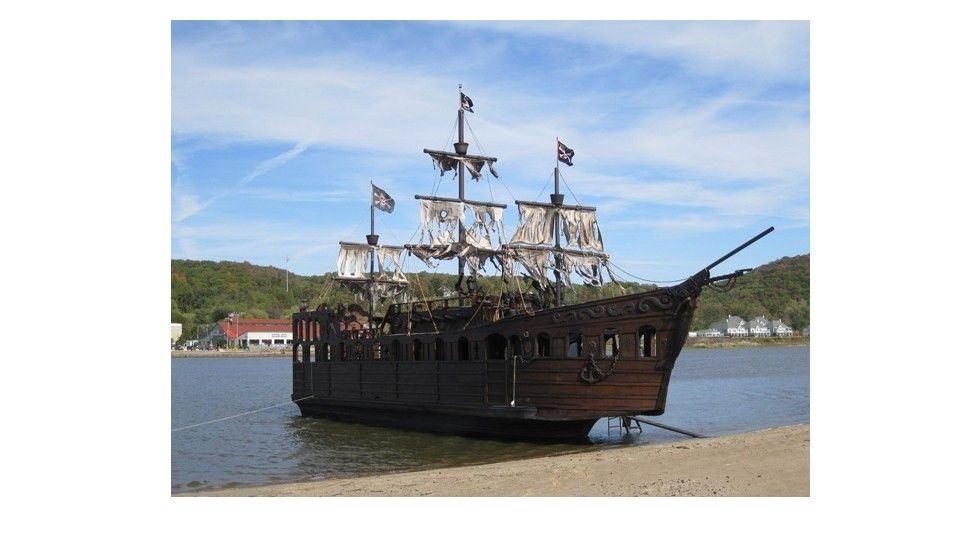 Introducing Gypsy Rose II A Meter Pirate Ship Created By US - How much do cruise ships cost to build