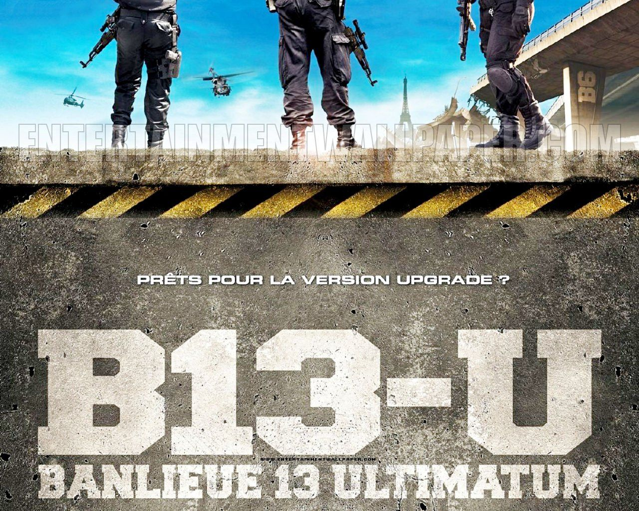 District 13 Ultimatum District 13 Movies Wallpaper