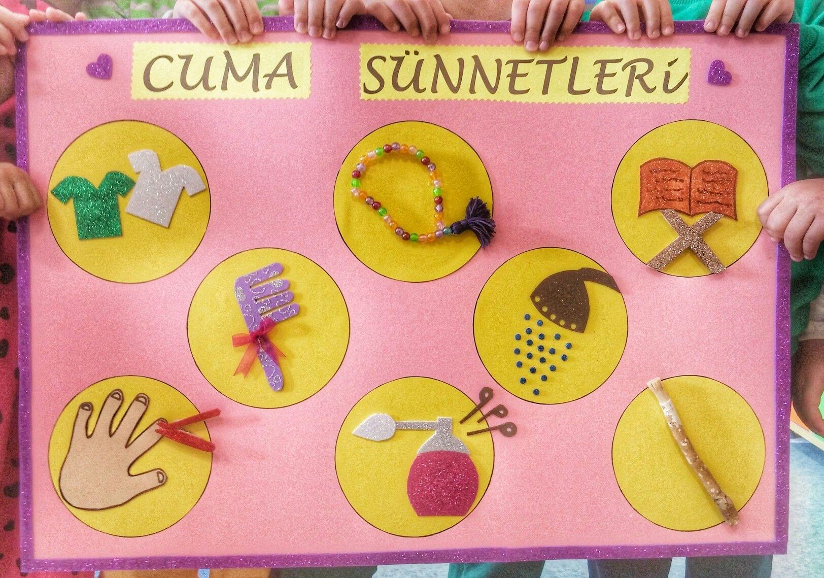 Cuma Sunnetleri Faaliyetler Anaokulu Egitim Faaliyetleri