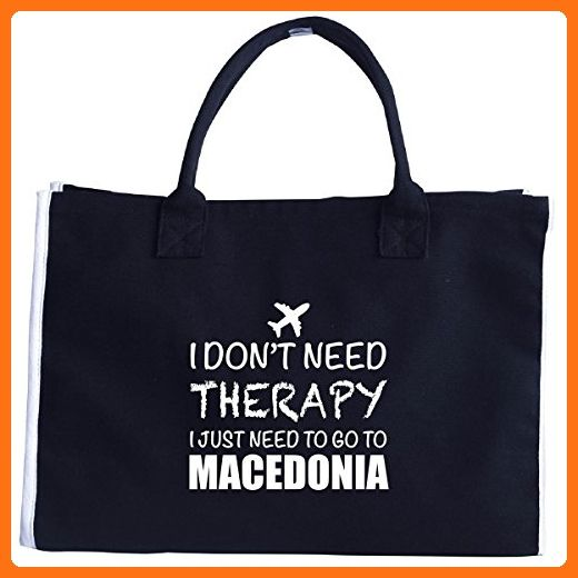 I Dont Need Therapy I Just Need To Go To Macedonia - Tote Bag - Totes (*Amazon Partner-Link)