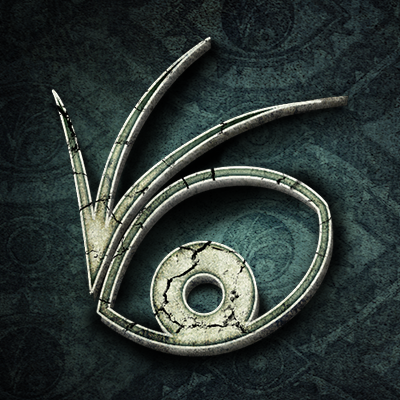 "The ""666 eye"" logo of ""A Series of Unfortunate Events"