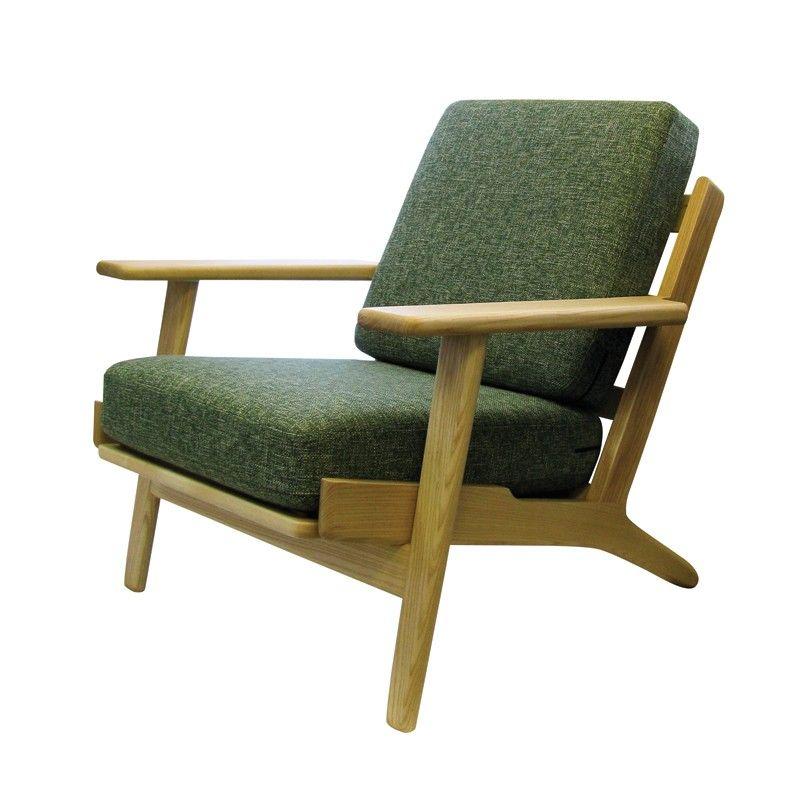 replica hans wegner plank chair lounge pinterest hans wegner