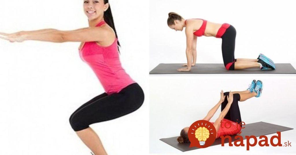 10 minút denne, 30 dní - týchto 7 jednoduchých cvičení zmení vaše telo v…