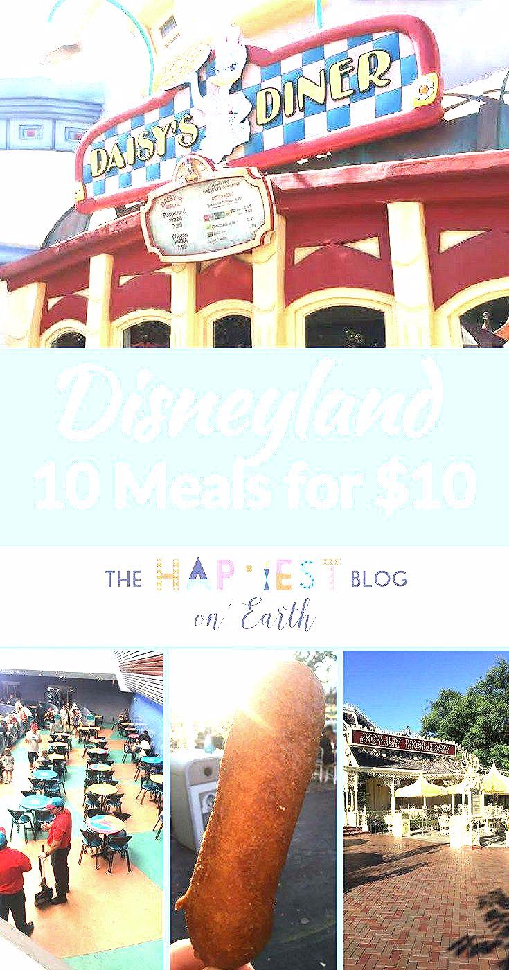Photo of 10 Disneyland Meals for $10 – The Happiest Blog on Earth
