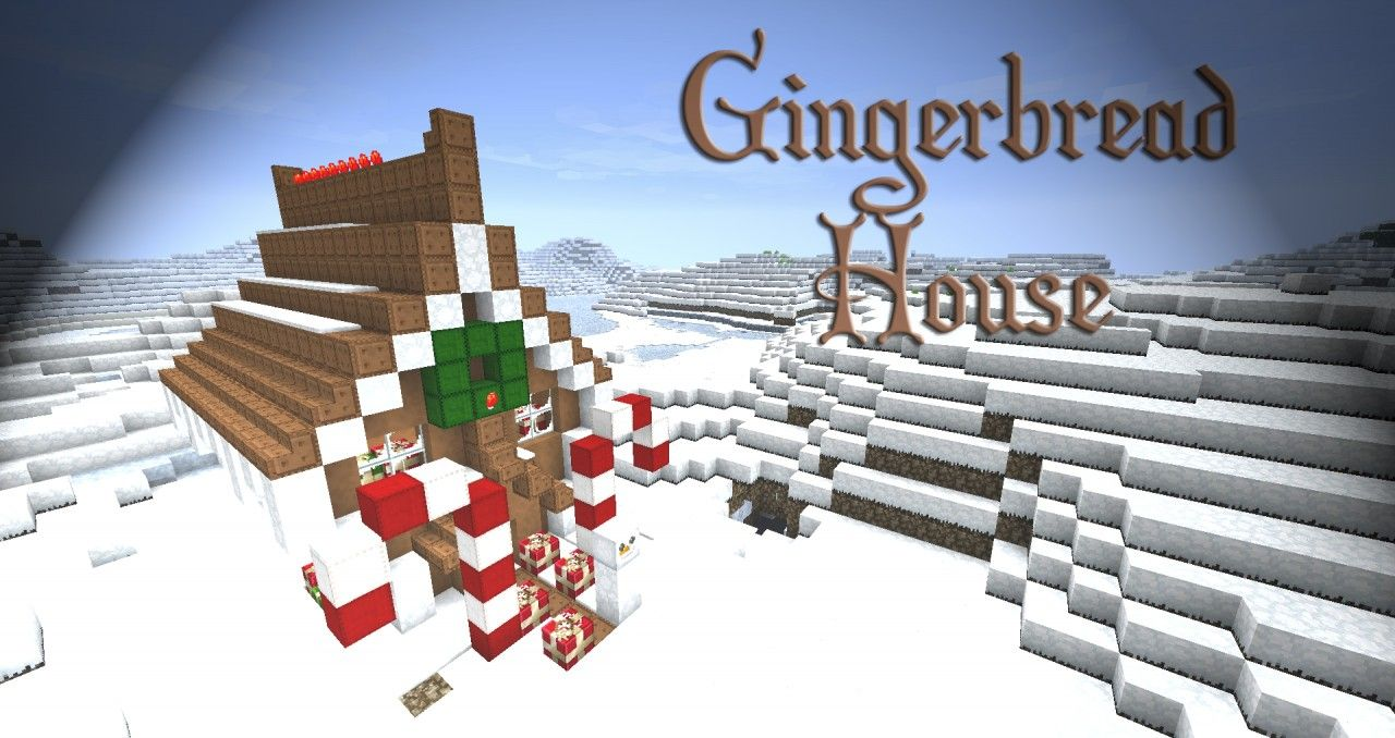 Christmas Decorations In Minecraft Pe : Gingerbread house minecraft project