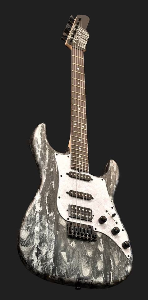 James Tyler Guitars Black Shmear.