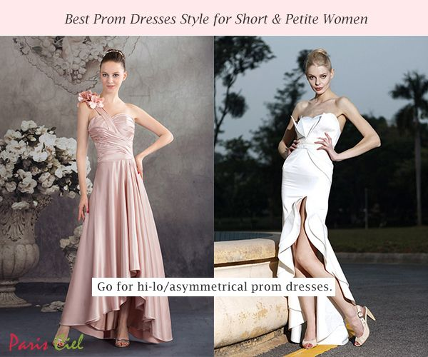 Check Out Our Guidelines For Choosing The Best Prom Dress Style Short And Petite Women