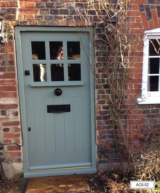 Oak Door Arts And Crafts Style, Bespoke Doors