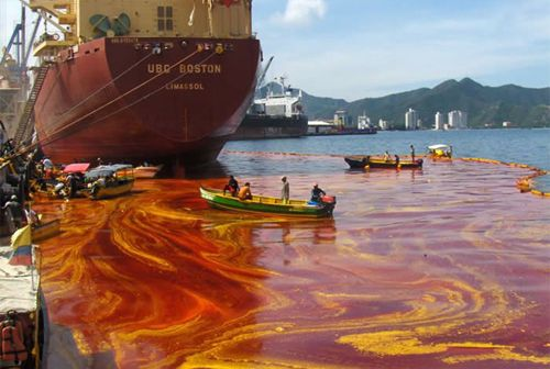 Impact Of Vegetable Oil Spills Pollution Water
