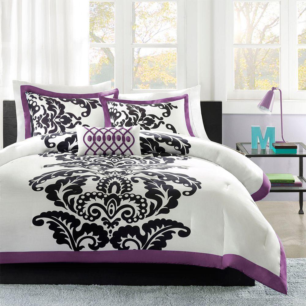 MiZone Capri 4-piece Comforter Set | Overstock.com ...