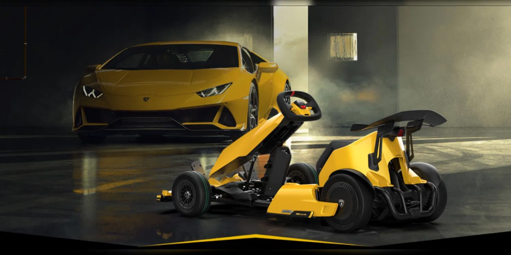 Lamborghini Unveils Electric Go Kart For Adults But It S Not What You Think Electric Go Kart Go Kart Lamborghini