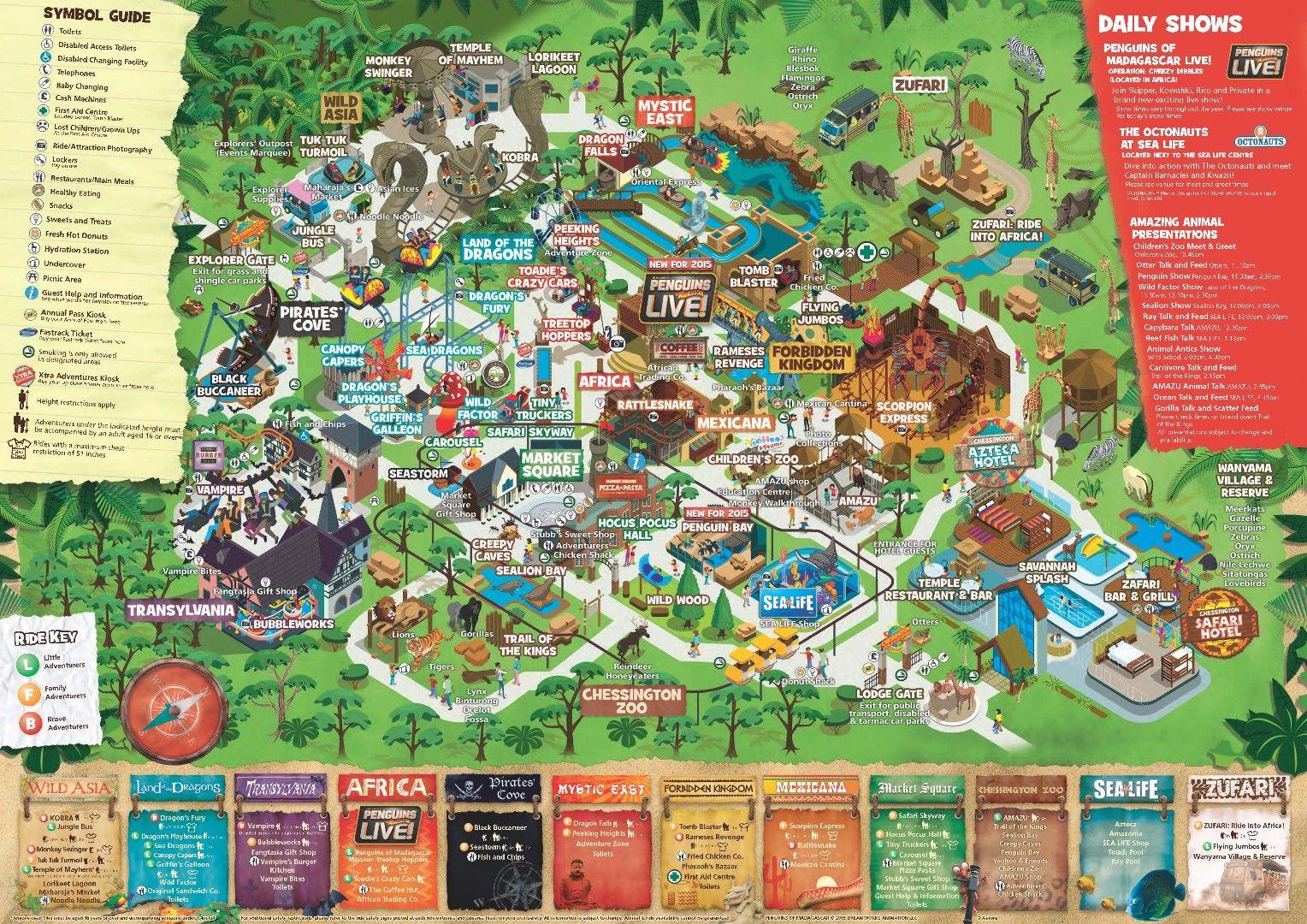Chessington World Of Adventures Resort Adventure Resort Theme