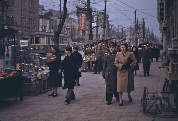 韓国人「戦後の日本のカラー写真(1949年~1950年)」 : カイカイ反応 ...
