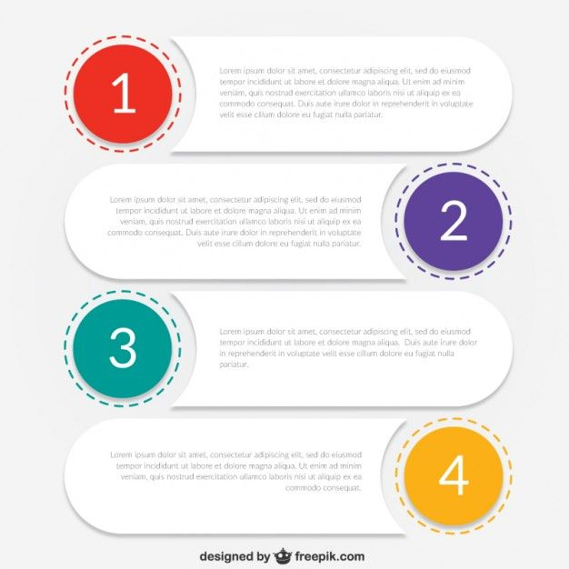 Infographic template for business Free Vector | Infografic ...