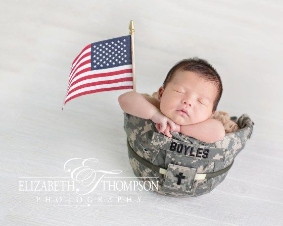 Newborn photographer clarksville tn elizabeth thompson baby photography fort campbell