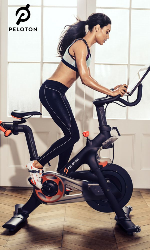 Peloton Bike Indoor Exercise Bike With Online Streaming Classes Biking Workout Indoor Bike Workouts Exercise