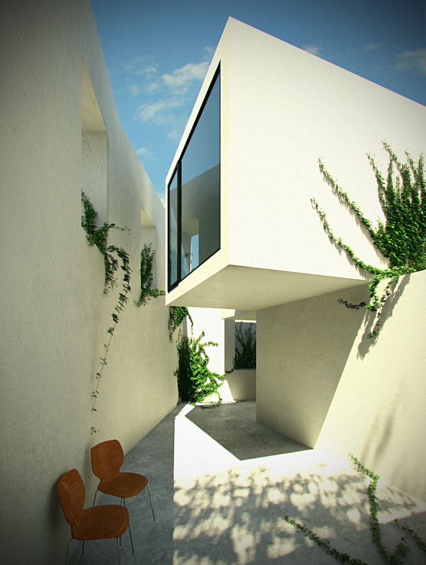 Aires Mateus, Casa em Alenquer Minimalist architecture