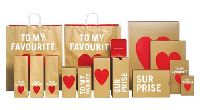 Hm gift packaging negle Images