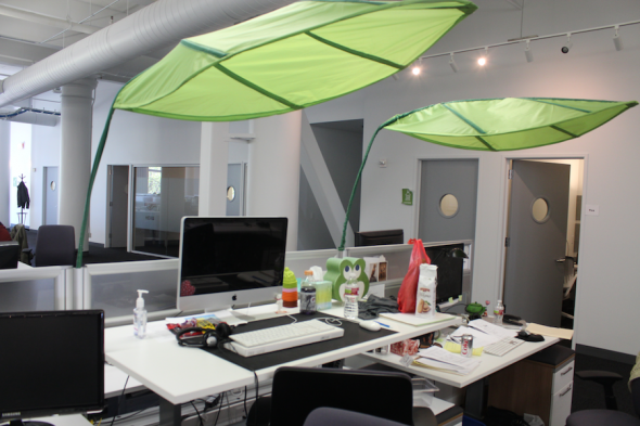 Room & Zendesk San Diego Office Picture | Office works Cubicle and ...